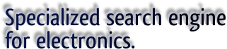 Specialized search engine for electronics.